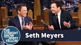 Download Seth Meyers on Baby Teeth, Late Night Fails and President Trump Video
