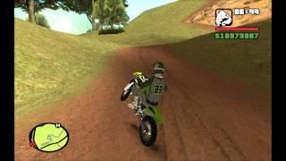 Download GTA San Andreas || Kawasaki KX + Skin Motocross || Mod* Video