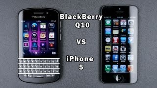 Download Blackberry Q10 vs IPhone 5 Full In-Depth Comparison Video