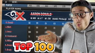 Download WHAT WOULD HAPPEN IF EVERY TOP 100 PLAYER VANISHED FROM THE NFL?? Madden 18 Video