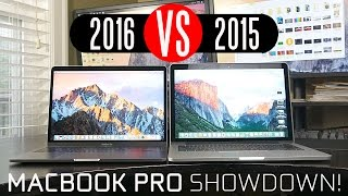 Download 2016 MacBook Pro vs 2015 Macbook Pro Video