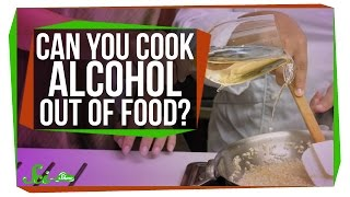 Download Can You Really Cook Alcohol Out of Food? Video
