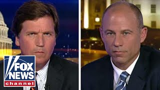 Download Tucker and Avenatti trade blows in explosive interview Video