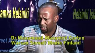 Download Cudurada Maskaxda Ku dhaca iyo Dr Cartan Video