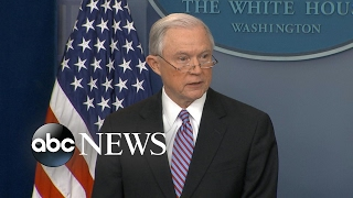 Download AG Jeff Sessions takes aim at sanctuary cities, says DOJ will cut funding Video