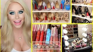 Download GLAM ROOM TOUR: Makeup, Shoes & MORE! | Gigi Video