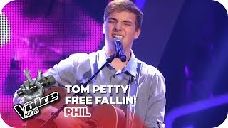 Download Tom Petty - Free Fallin' (Phil)   Blind Auditions   The Voice Kids 2018   SAT.1 Video