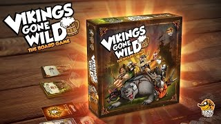 Download Vikings Gone Wild - The Board Game - Trailer Video