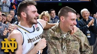 Download Notre Dame's Matt Farrell & Family Surprised By Military Brother Video