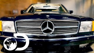 Download Mike Brewer Finds A 1983 Mercedes 500 SEC To Restore | Wheeler Dealers Monday 9pm | Discovery UK Video