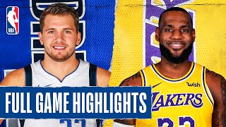 Download MAVERICKS at LAKERS | FULL GAME HIGHLIGHTS | December 1, 2019 Video