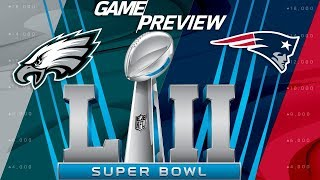 Download Super Bowl LII Eagles vs. Patriots FULL Preview, Predictions, & Analysis | NFL Playbook Video