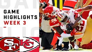 Download 49ers vs. Chiefs Week 3 Highlights | NFL 2018 Video