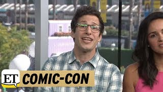 Download Comic-Con 2018: Andy Samberg Makes A Plea For Bruce Willis To Guest Star On Brooklyn Nine-Nine Video