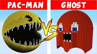 Download PAC-MAN vs GHOST – PvZ vs Minecraft vs Smash Video