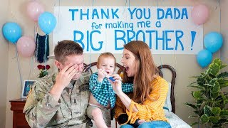 Download Toddler Surprises Daddy with Pregnancy Announcement!!! *Shocked* Video