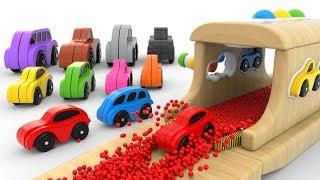 Download Learn Colors with Wooden Hammer Educational Toys - Colors Collection for Children Video