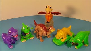 Download 1997 THE LAND BEFORE TIME COLLECTION SET OF 6 BURGER KING KID'S MEAL TOY'S VIDEO REVIEW Video