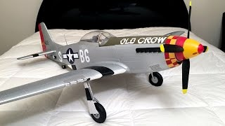 Download Unboxing and Review - Eleven Hobby P-51 Mustang WWII Warbird RC Plane From Banggood Video