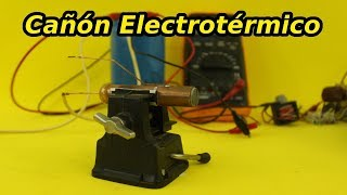Download Cañón Electrotérmico Video
