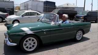 Download 1966 Sunbeam Tiger Mark 1A - Jay Leno's Garage Video