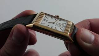Download Jaeger-LeCoultre Grande Reverso Ultra-Thin Duoface Luxury Watch Review Video