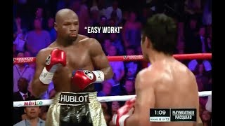 Download Floyd Mayweather Makes His Opponents Look Like Amateurs Video