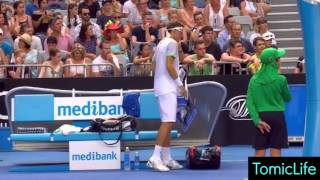 Download Woman Has a Medical Emergency in the Crowd During Tomic vs Istomin Match - Australian Open 2016 | HD Video