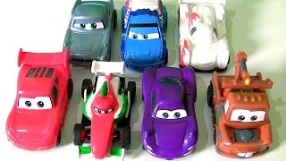 Download Tomica Disney Pixar Cars 2 from Takara Tomy Collection Push and Go Racer Cars Video