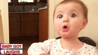 Download 100 Surprised Baby Reactions | Try Not To Laugh Challenge Video