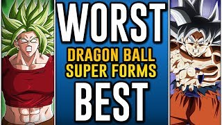 Download Worst To Best: Dragon Ball Super Transformations Video