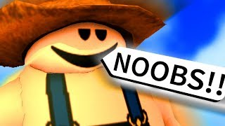Download ROBLOX but I make fun of NOOBS for being NOOBS!!!!!!!!! Video