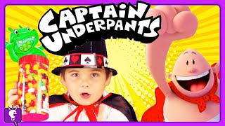 Download Captain Underpants + Live HUNGRY Hippos and Magic Compilation by HobbyKids Video