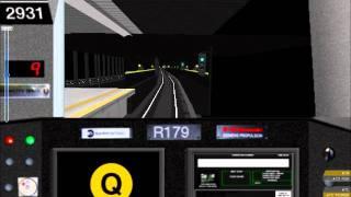 Download OpenBVE: NYCTA (Q) Line (Skeleton): Sheepshead Bay - 57th Street/7th Avenue Video