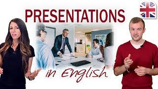 Download Presentations in English - How to Give a Presentation - Business English Video