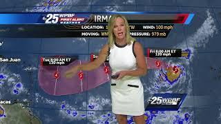 Download Hurricane Irma blows up in Atlantic Video