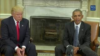 Download President Obama Meets With President-Elect Trump Video