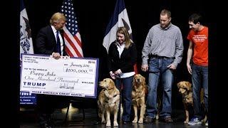 Download How Trump may have used his charitable foundation for personal and political gain Video