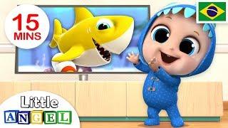 Download Dançando com o Bebê Tubarão! (Baby Shark) | Historinhas e Músicas Infantis | Canal do Joãozinho Video