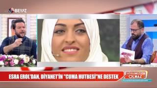 Download Esra Erol'dan Diyanet'in hutbesine destek! Video