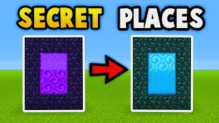 Download MINECRAFT : Secret Places In Your World! (Ps3/Xbox360/PS4/XboxOne/WiiU/PE) Video