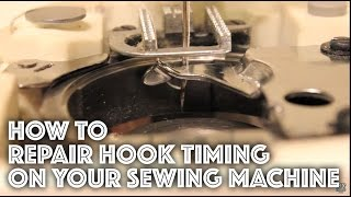 Download How to Fix / Repair the Hook Timing on a Sewing Machine Video