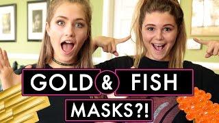 Download CAVIAR AND GOLD FACE MASK?! MEL JOY AND OLIVIA JADE | LA Made w/ Olivia Jade Video