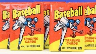 Download 1975 Topps Baseball Card Wax Pack Box Break Opening Possible Nolan Ryan Pete Rose Reggie Jackson Video