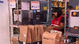 Download Amazon fulfillment centers that deliver within hours Video