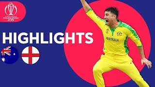 Download Finch & Starc Star at Lord's | Australia vs England - Match Highlights | ICC Cricket World Cup 2019 Video