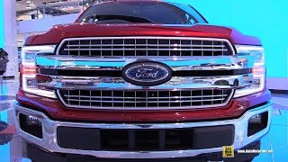 Download 2018 Ford F150 Lariat - Exterior and Interior Walkaround - Debut at 2017 Detroit Auto Show Video
