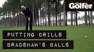 Download Try this two-ball drill to improve your putting Video