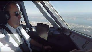 Download Cockpit-Flug in 360°: Von Düsseldorf nach Lissabon (Full Version) Video