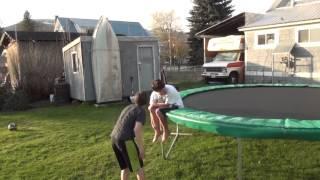 Download TRIPLE BACKFLIP TO BROKEN ANKLE! Video